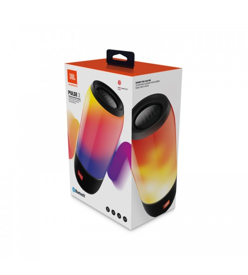 Jbl pulse 3 wireless waterproof portable bluetooth speaker for Housse jbl pulse 3