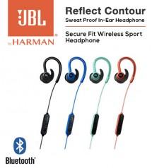 JBL Reflect Contour Secure Fit Wireless Bluetooth Sweat Proof Sport In Ear Headphones
