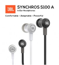 JBL Synchros S100A Advanced In-Ear Stereo Headphones