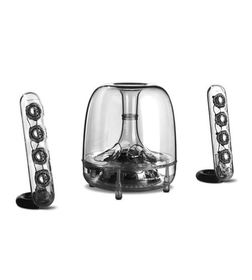 harman kardon soundsticks three piece wireless speaker. Black Bedroom Furniture Sets. Home Design Ideas