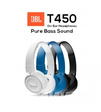JBL T450 Pure Bass Sound On-Ear Headphones