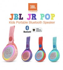 JBL Jr. Junior Pop Kids Portable Bluetooth IPX7 Waterproof Speaker