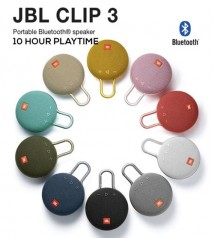 JBL Clip 3 Portable IPX7 Waterproof Wireless Bluetooth Speaker