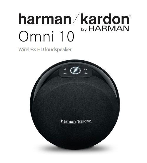 a30fcf97222 Harman Kardon Omni 10 Wireless Bluetooth Portable HD Audio System  Loudspeaker