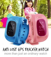 Q60 C Child Safety Kids Security Smart Watch With GPS Tracker And Anti Lost Feature