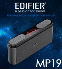Edifier MP19 Portable Music Media Player Speaker with FM Radio SD/USB AUDIO/FM Radio/AUX