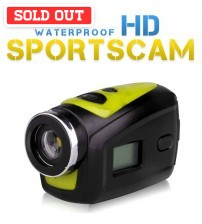 Waterproof HD Outdoor Sports Camera