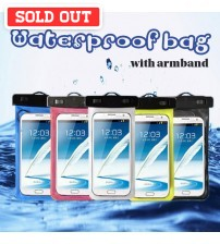 Waterproof Bag with Armbelt for Smartphones
