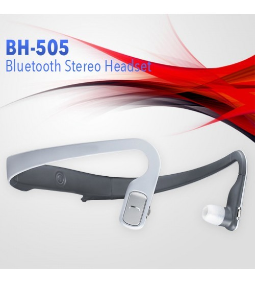BH-505 Wireless Bluetooth Stereo Outdoor/Gym/Sports Headset For Smartphones/Tablets/Laptop