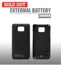 Power Case 2800mAh External Battery Back Case For Samsung Galaxy S2