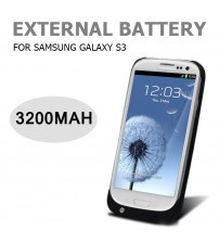 Power Case 3200mAh External Battery Back Cover For Samsung Galaxy S3