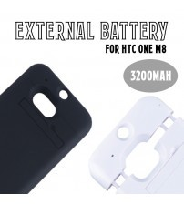 Power Case 3200mAh External Battery Back Cover For HTC One M8
