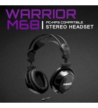 Salpido Warrior M68 Premium Stereo Music Headset With Extendable Mic