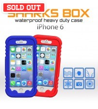 "Sharks Box Colorful Waterproof Case for iPhone 6 ( 4.7"" )"