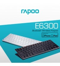 RAPOO E6300 Wireless Bluetooth Keyboard for iPad and iPhone