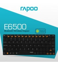 RAPOO E6500 Wireless Bluetooth Keyboard for Android Devices