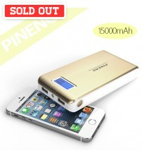 PINENG PN-929 Universal USB Backup Powerbank with 15000mAh