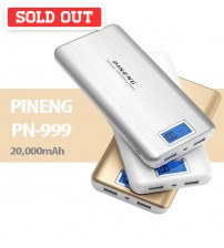 PINENG PN-999 Universal USB Backup Powerbank with 20000mAh