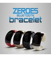 Zeroes Bluetooth Bracelet Watch For iPhone or Android Smartphones