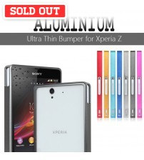 Cross 0.7mm Ultra Slim Aluminium Metal Bumper for Xperia Z L36H