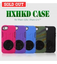 HXHKD Shockproof Case for iPhone 5/5s | iPhone 6 4.7""