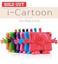 i-Cartoon Free Standing Lightweight Foam Cover for iPad 2/3/4