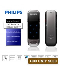 PHILIPS VTR6600 Digital Voice Recorder 8GB with Sensor Touch Buttons