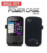 Power Case 2800mAh External Battery Back Case For Blackberry Q10