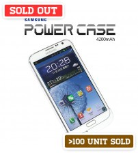 Power Case 4200mAh External Battery Back Case For Samsung Galaxy Note 2