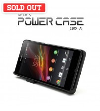 Power Case 2800mAh External Battery Back Case For Sony Xperia Z L36H