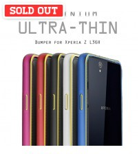 Cross 0.7mm Ultra Thin Aluminium Metal Bumper for Xperia Z & Xperia Z1