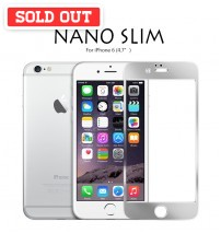 "Colorful Nano Slim Tempered Glass Mirror Screen Protector for iPhone 6 (4.7"")"