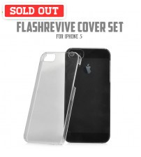 +Simplism Flash Revive Cover Set with Protector Film for iPhone 5 / 5S