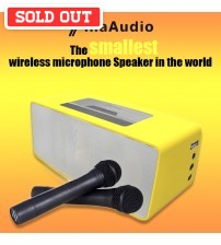Tina Audio 352 The Smallest Bluetooth Wireless Microphone Karaoke Speaker