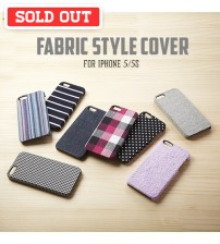 +Simplism Fabric Style Cover with Protector Film for iPhone 5/5s