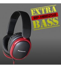 Panasonic RP-HBD250 Extra Bass Stereo Headset