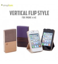 +Simplism Vertical Flip Style for iPhone 4/4s