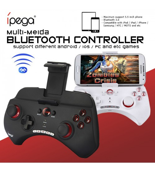 iPega PG-9025 Gaming Multi-Media Bluetooth Controller for Smartphones and Tablets