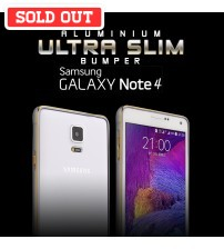 Cross 0.7mm Ultra Slim Aluminium Metal Bumper for Samsung Galaxy Note 4