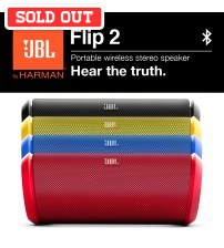 JBL Flip 2 Rechargeable Portable Wireless Stereo Speaker