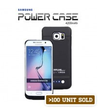 Power Case 4200mAh External Battery Back Case For Samsung Galaxy S6 / S6 Edge