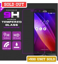 Rock Solid 9H Premium Light Weight 0.25mm Tempered Glass Screen Protector For Mobile Gadgets [Latest Model]