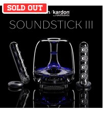 Harman Kardon Soundsticks III 2.1 Satellite Speaker and Subwoofer