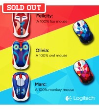 Logitech Colorful Play Collection Wireless Mouse M238 for Windows, Mac, Chrome OS, Linux