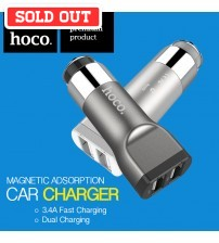 Hoco 3.4A Direct Touch Fast Charge Dual Car Charger UC201