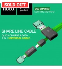 HOCO Share Line Lightning and Micro USB Fast Charge Cable UPL03