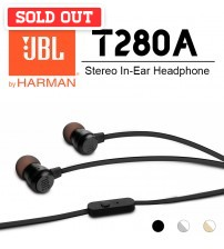 JBL Pure Bass T280A Stereo In-Ear Headphone
