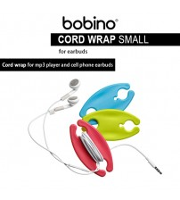 BOBINO Cord Wrap for MP3 Player and Smartphone Earbuds