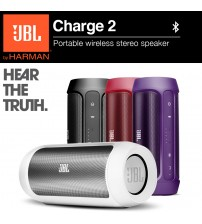 JBL Charge 2 Portable Bluetooth Wireless Speaker