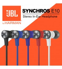 JBL SYNCHROS E10 PureBass Wired Headphone
